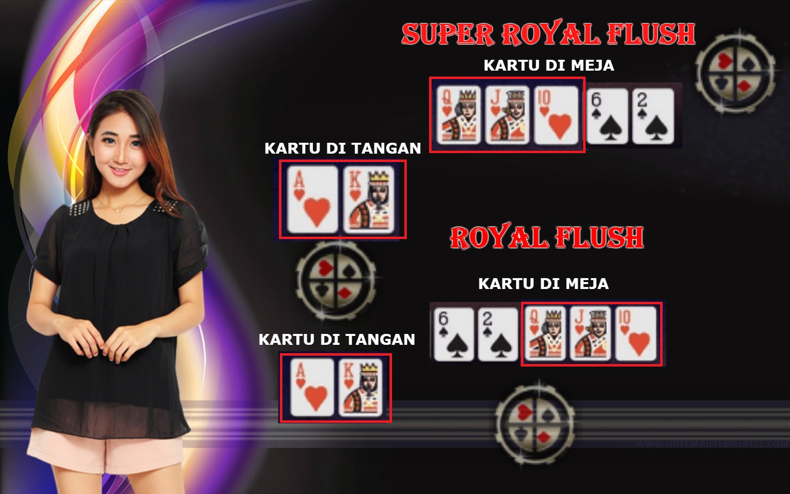 SUPER ROYAL FLUSH DAN ROYAL FLUSH DI IDN POKER UANG ASLI